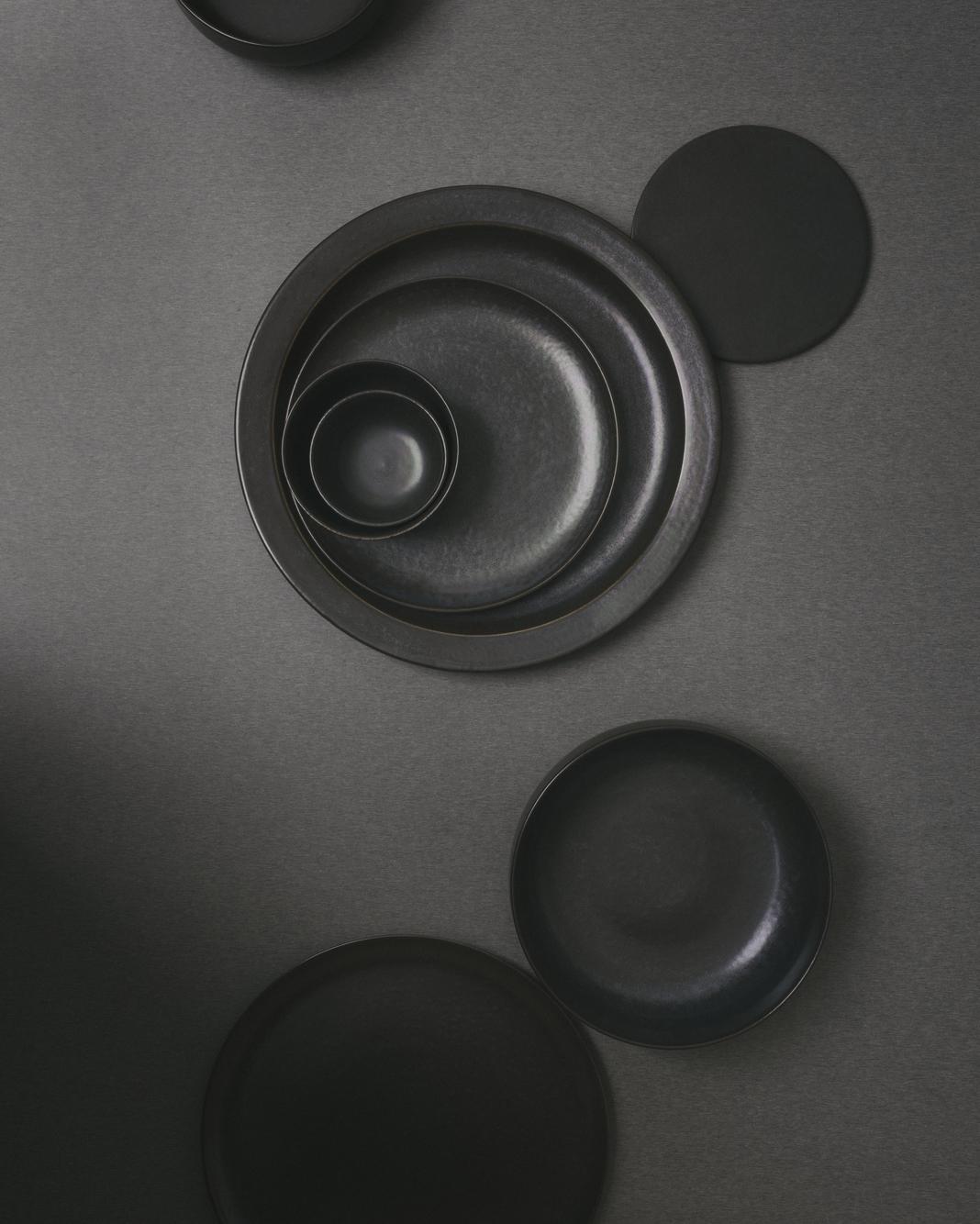 Menu New Norm Low Bowl Dark Glazed