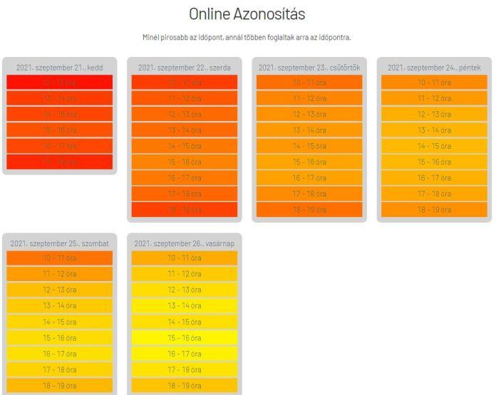 Előválasztás online: időpontfoglalás