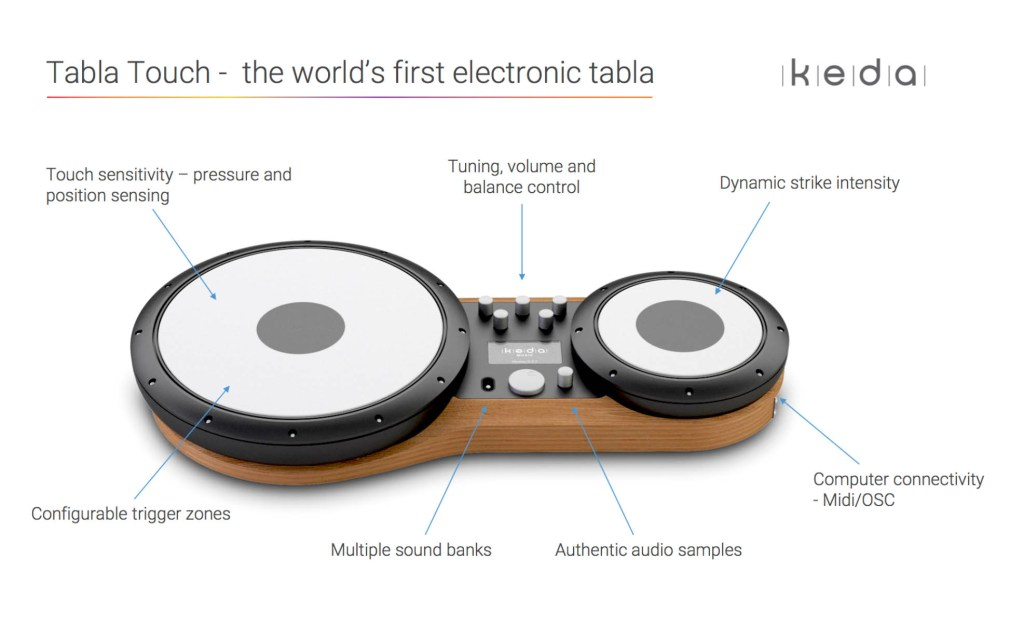 Tabla Touch - the world's first electronic tabla