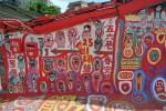 台湾台中のド派手でカラフルな村、彩虹眷村がアートで可愛い!