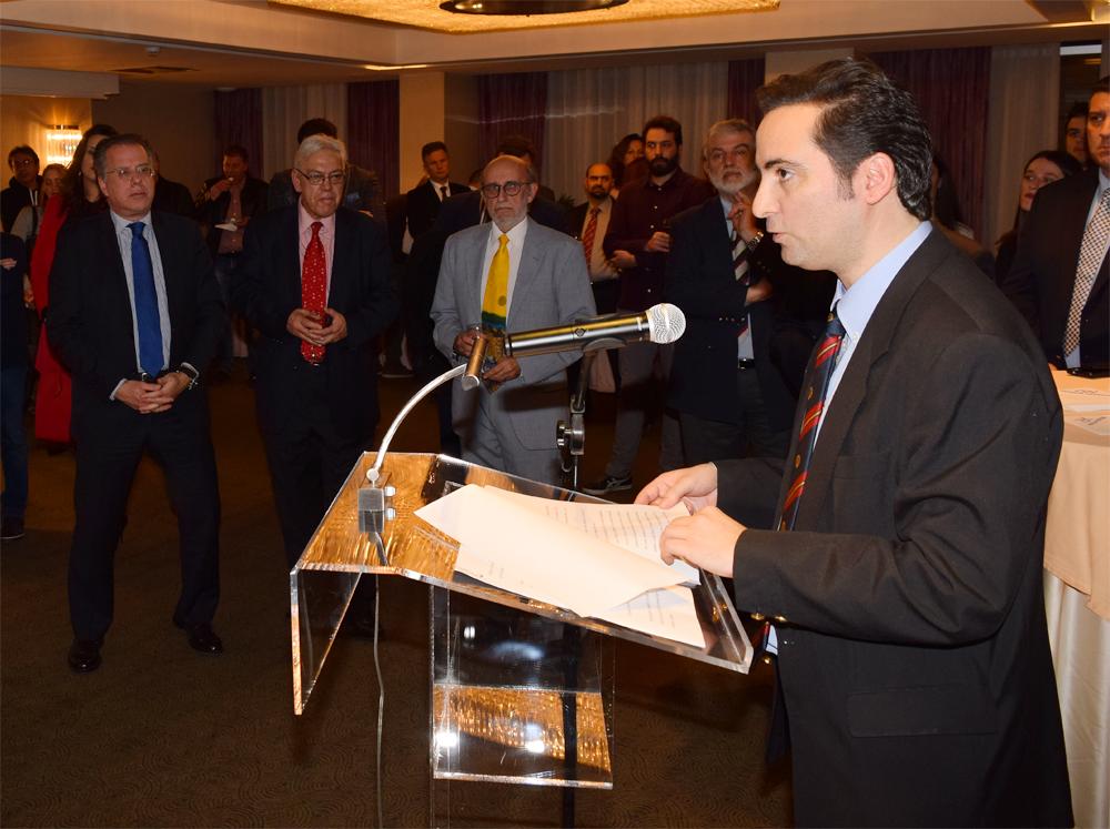 Ο Ιδρυτής και Πρόεδρος Δ.Σ. του ΚΕΔΙΣΑ, κ.Ανδρέας Γ. Μπανούτσος.
