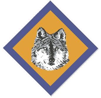 Grey Wolf Badge
