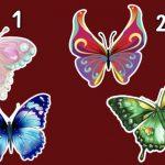 Válassz egy pillangót, felfedi a lelked legmélyebb rejtélyeit