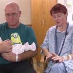A 47 éves nő a szülés előtt egy órával tudta meg, hogy terhes