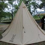 入野松原キャンプ場でキャンプサーフィン!DODのワンポールテントが最高!?(1日目)