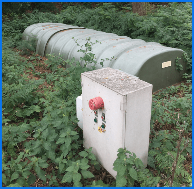 The old G7 BioDisc and Pump stations no longer fit for purpose