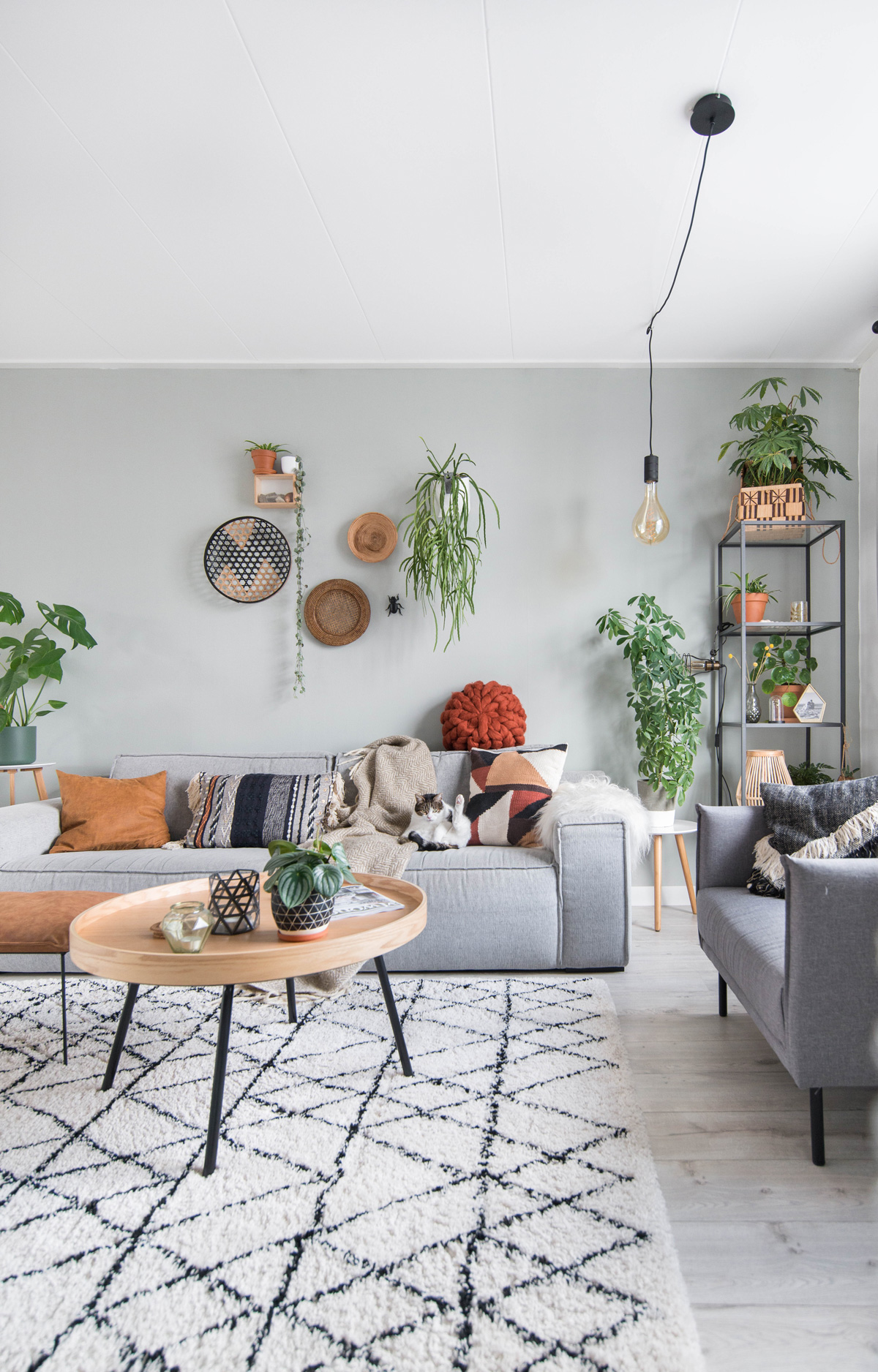 keeelly91blog makeover fundesign zuiver salontafel oaktray roest cognac woonkamer interieurinspiratie wonen urbanjungle