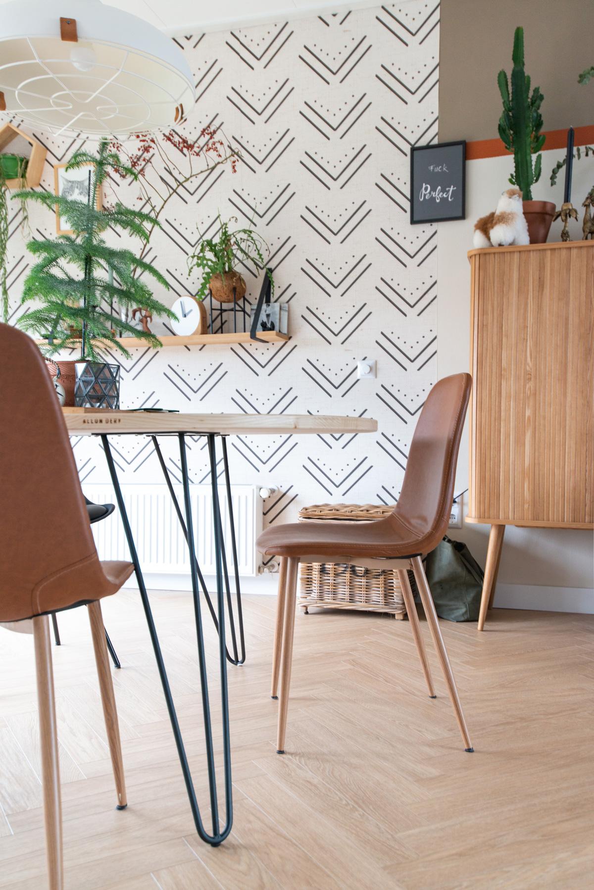 keeelly91 allondery tafel rond op maat wooninspiratie eettafel eetkamer diningroom wallpaper behang muralswallpaper