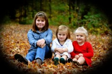 Maddy (9), Lilly (4) and Caleigh (2) Fall 2013