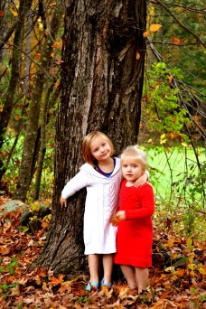 Lilly and Caleigh