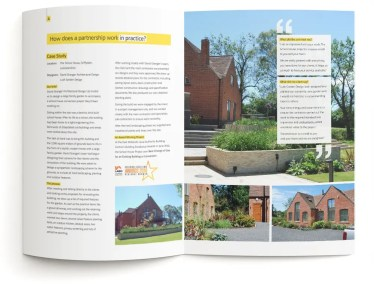 Direct mail brochure design – Lush Garden Design