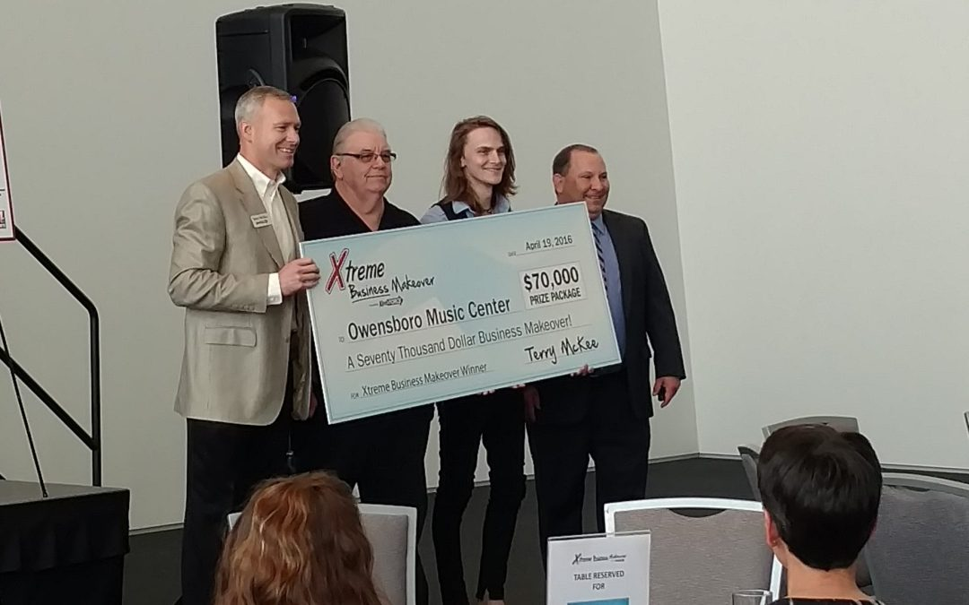 Owensboro Music Center Wins $70,000 Owensboro Xtreme Business Makeover