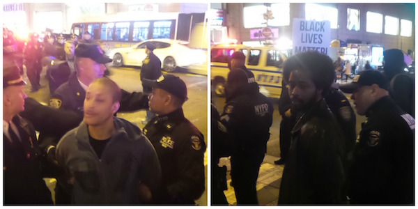 NYPD Violently Assaults Protesters, Arrests Family of Police Abuse Victims for Marching