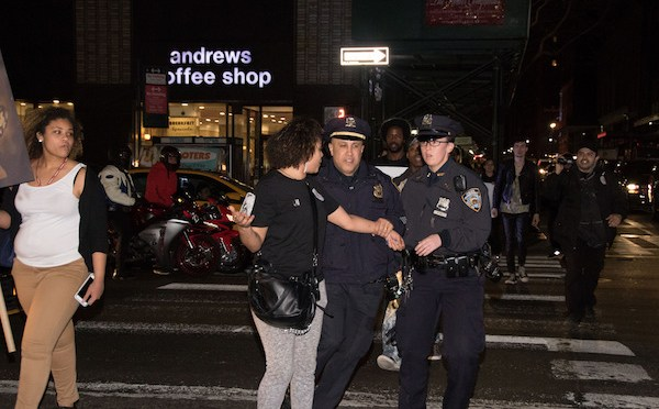 "NYPD Illegally Arrests Protesters in New Video, Transports Them ""Where No One Will Find Them"""