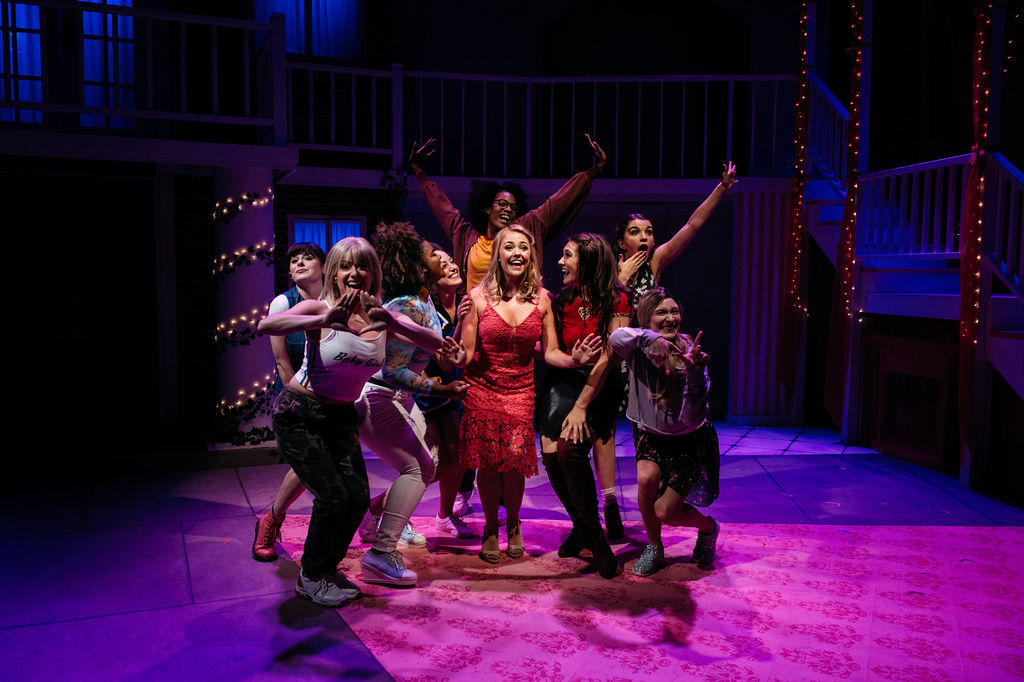Legally Blonde, music and lyrics by Laurence O'Keefe and Nell Benjamin, book by Heather Hach, directed by Ricky Drummond | Photo: Cameron Whitman Photography