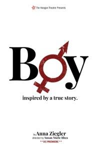BOY by Anna Ziegler. directed by Susan Marie Rhea