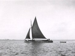 Sloop on the River Humber
