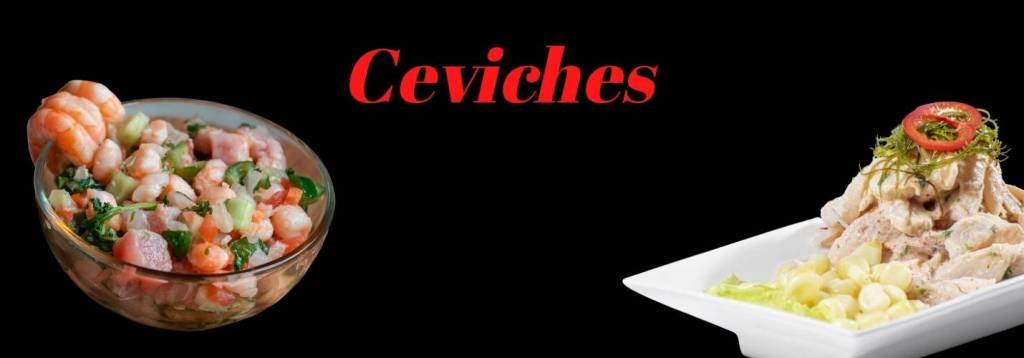 Ceviches y Ensaladas - Sushi San Miguel