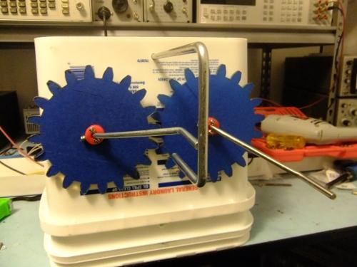DIY Taffy Machine - first test (1/2)