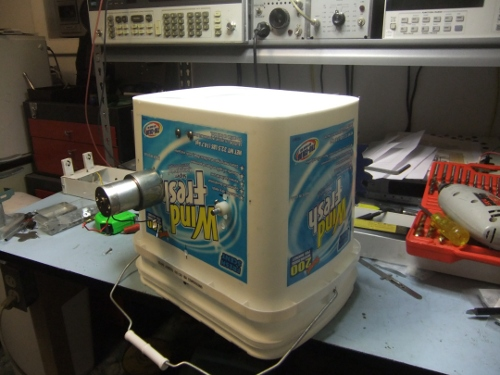 DIY Taffy Machine - first test (2/2)