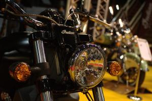 Indian Scout Lamp