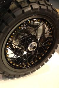 Triumph Scrambler wheel