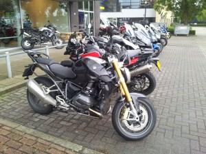 BMW тест мотоциклы