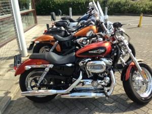 H-D Sportser 1200 Custom - row