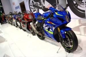 Выставка Motorbeurs 2016  -  Suzuki 50 years