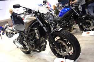 Выставка Motorbeurs 2016  -  Suzuki SV650 SW-Motech Scrambler look