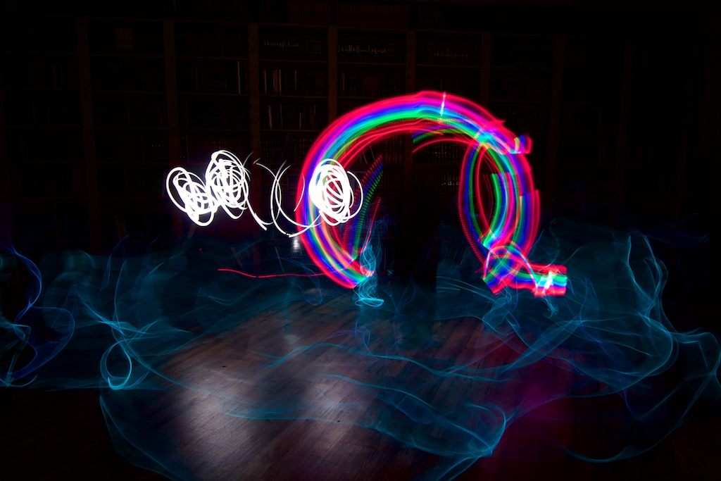 colourful light photography