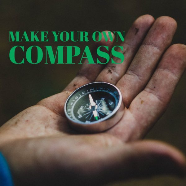 making compass poster