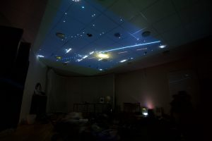 star constellations on the ceiling