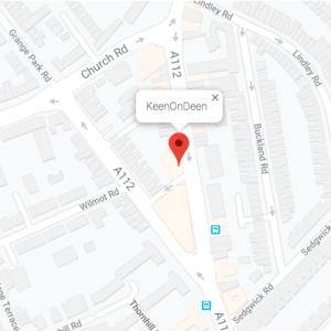 map of Keen on Deen address