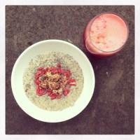 The porridge diaries