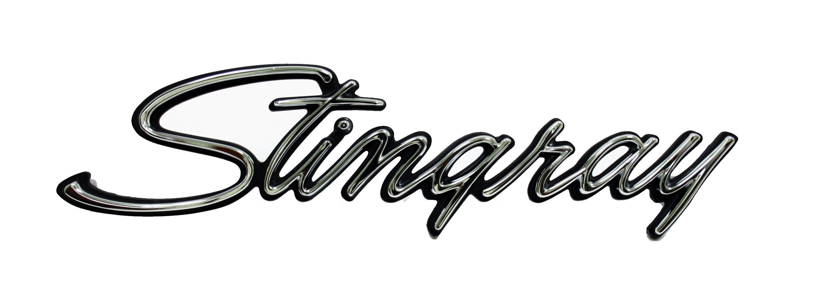Corvette Side Emblem Stingray