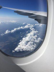 Hinflug nach Miami