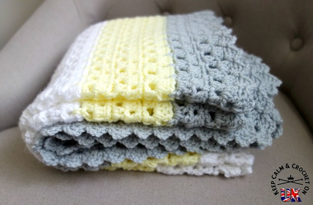Free Pattern Superbly Simple Baby Blanket Keep Calm And