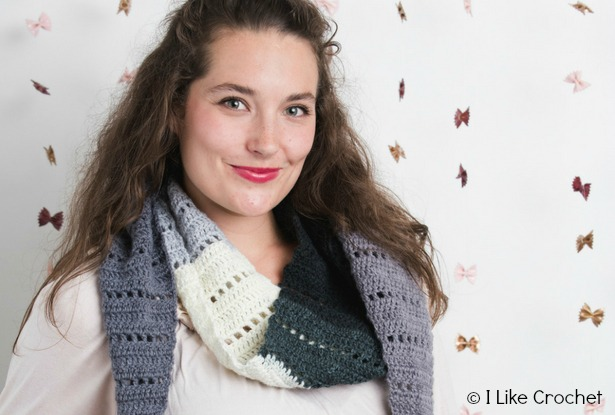 Filet-Crochet-in-Shades-of-Gray-Scarf-Horizontal