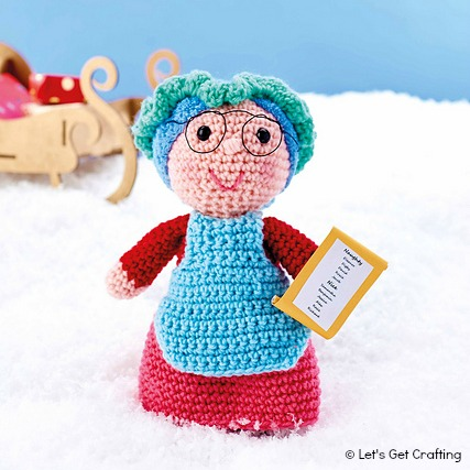 Crochet Russian Doll by Anne-Claire Petit - YouTube | 427x427