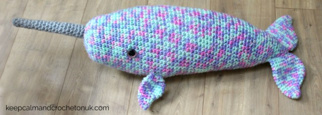 Whale/narwhal pattern - Crochet creation by The Merino Mermaid ... | 229x640