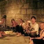 Japan: Hiroshima: Japanese Teenagers Singing
