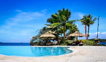 Pearl Farm Beach Resort in Davao City, Samal Island, Philippines.