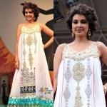 2011 IIFA Samsara Fashion Show: Nazish Khan Designs with Lisa Ray