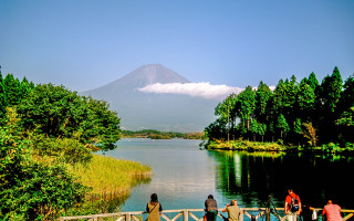 Mt Fuji is Japan's highest mountain.