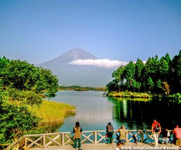 Mt Fuji is Japan's highest mountain.