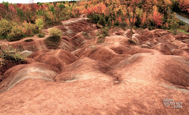 Cheltenham Badlands in Fall is a lovely sight to behold!