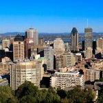 Montreal – View from Mont Royal Chalet