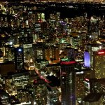 Toronto at Night from the Top of CN Tower