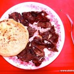 Eating Deer Meat in Mexico